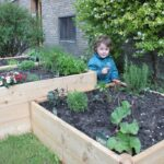 Urban trädgårdsarbete med odlingslådor från LandGarden.se