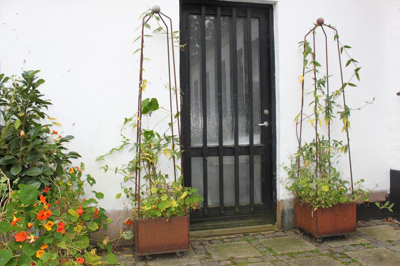 verandor med Trellises
