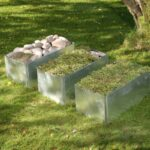 Land Classic – Planteringslåda liten avlång med snigelstaket